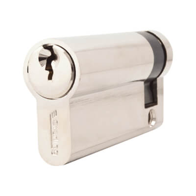 5 Pin Cylinder - Euro Single - 61mm - Nickel