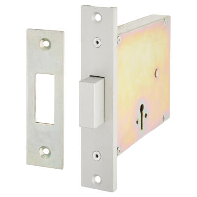 Fire Brigade FB2 Mortice Deadlock - 110 x 80mm)
