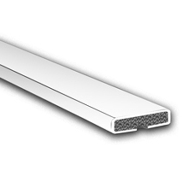 Fire Only Intumescent Strip - 20 x 4 x 2100mm - Plain - White - Pack 10