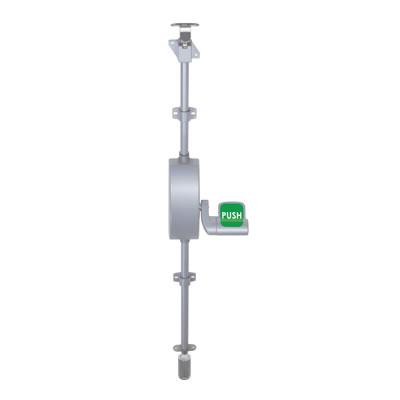 UNION® Eximo Single Door Push Pad Bolt - Metal Fixings