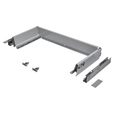 Blum TANDEMBOX ANTARO Drawer Pack - BLUMOTION Soft Close - (H) 84mm x (D) 270mm x (W) 600mm - Grey