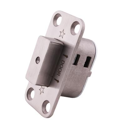 Cubicle Pivot Set - Emergency Release Door Stop Pin Lock)