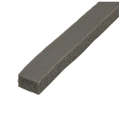 Stormguard Rubber Foam Weatherstrip - 3500mm - Black