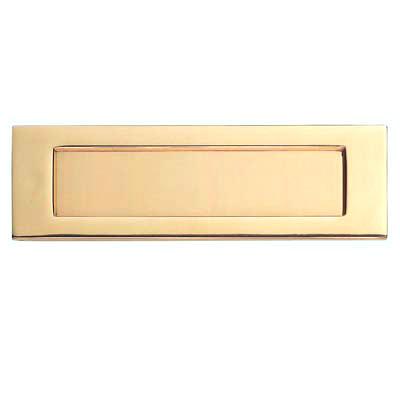 Carlisle Brass Letter Plate - 257 x 80mm - Stainless Brass PVD)