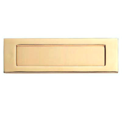 Carlisle Brass Letter Plate - 257 x 80mm - Stainless Brass PVD)