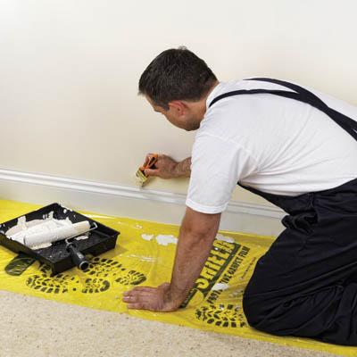 TIMco Shield Protective Film - 0.6 x 25 metres - Carpets)
