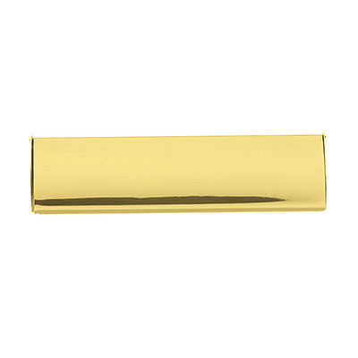 Interior Letter Tidy Plate - 280 x 87mm - Polished Brass)