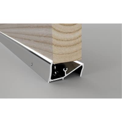 Stormguard Lowline Threshold - 1000mm - Silver