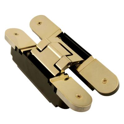 Simonswerk Tectus TE540 3D Hinge - 200 x 32mm - Polished Brass