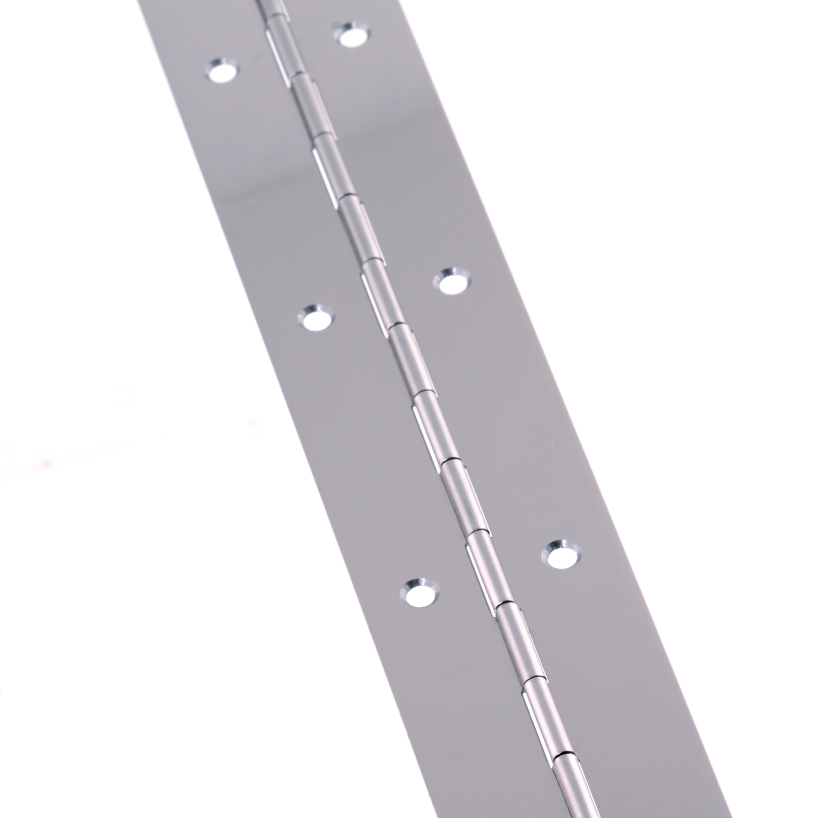 Steel Piano Hinge - 1850 x 38 x 0.7mm - Nickel Plated)