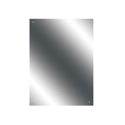 Pre Drilled Mirror - 500 x 700mm - Ultrabright Finish