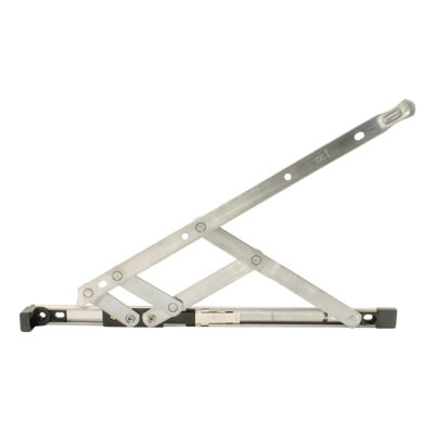 Restrictor Friction Hinge - uPVC/Timber - 13mm Stack - 16 inch / 400mm - Top Hung - Pair