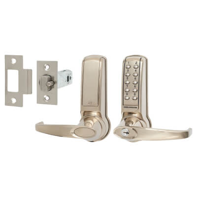Codelocks 4010 Electronic Lock - Stainless Steel)