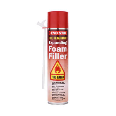 Evo-Stik Fire Retardant Expanding Foam - 700ml)