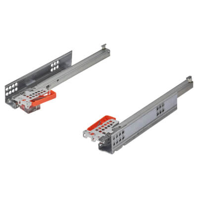 Blum TANDEM BLUMOTION Soft Close Drawer Runners - Single Extension - 270mm - 30kg