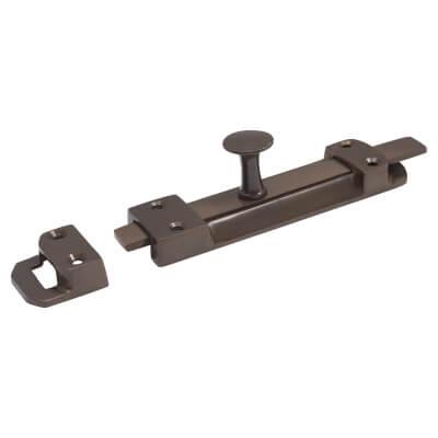 Flat Section Bolt - 140 x 32mm - Dark Bronze