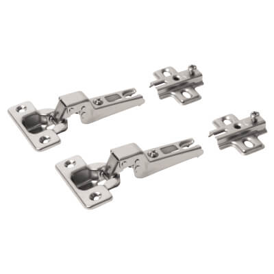 Motion Slide-On Cabinet Hinge - 95° - Dual - Pair