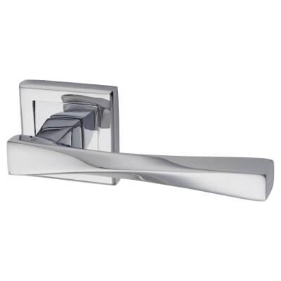 Morello Spirit Door Handle - Polished Chrome