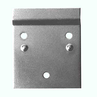 Touchpoint Offset Wall Plate - 70 x 60mm - Zinc Plated Steel - Pack 10