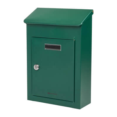 DAD Country 2 Mailbox - 325 x 220 x 100mm - Green)