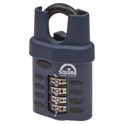Squire Combi All Weather Padlock - 40mm - Closed Shackle