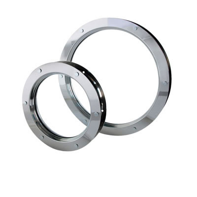 North 4 Designs Single Glazed Round Vision Panel - 288mm - FD30