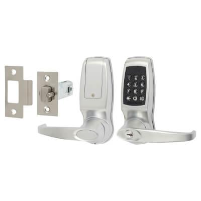 Codelock CL4510 Medium Duty Bluetooth Smart Lock - Brushed Steel