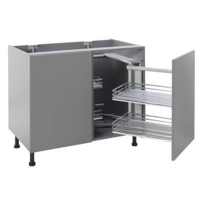 Soft Close Corner Organiser Plus - Right Hand - Cabinet Width 900/1000mm)