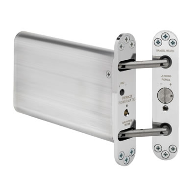 Powermatic R100 Hydraulic Concealed Closer - Polished Chrome
