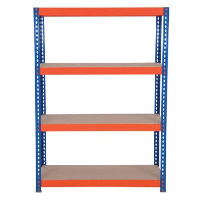 4 Shelf Budget Shelving - 265kg - 1800 x 1200 x 600mm)