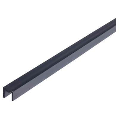 Chasmood No 74 Single Channel 2 metres - Overall Height 12.7mm - Width 10.32mm - Glass Size 6.35mm)