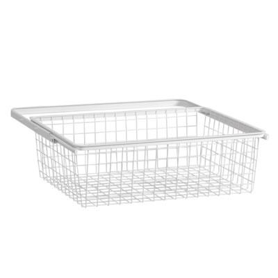 elfa® Basket and Frame - 610 x 440 x 185mm - White