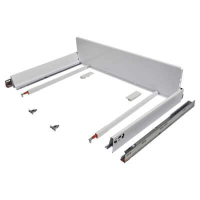 Blum TANDEMBOX ANTARO Pan Drawer - BLUMOTION Soft Close - (H) 203mm x (D) 550mm x (W) 900mm - White