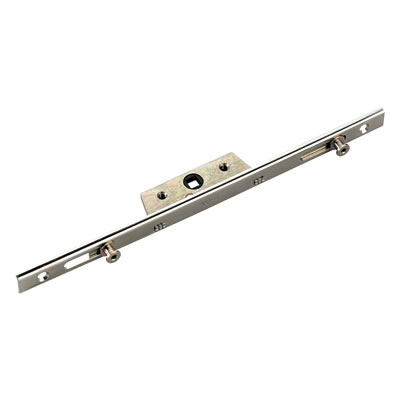 Avocet Single U-Rail - Offset - Espagnolette Window Lock - 1000mm - 25mm Backset - 8mm Cam)