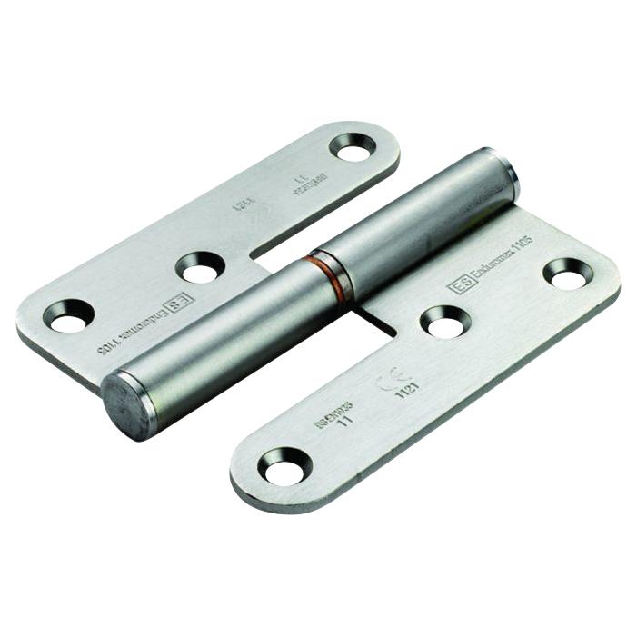 Enduro Lift Off Thrust Bearing Hinge - 98 x 83 x 3mm - Right Hand - Stainless Steel)