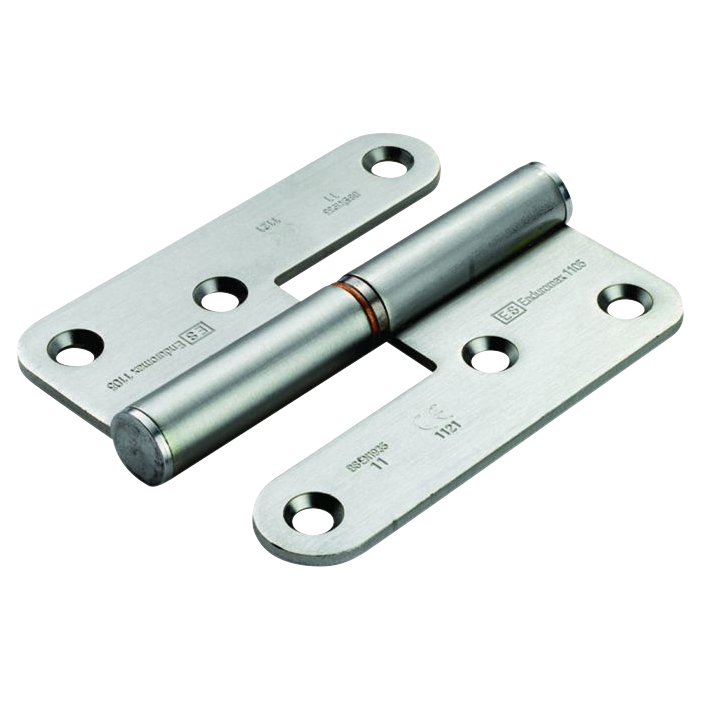 Enduro Lift Off Thrust Bearing Hinge - 98 x 83 x 3mm - Right Hand - Stainless Steel