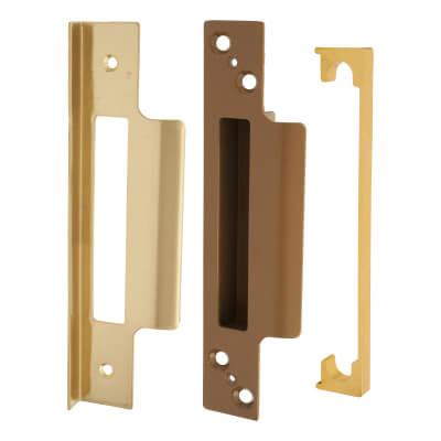 Legge 13mm Rebate Kit to suit Heavy Pattern 5 Lever Sashlock - Polished Brass)