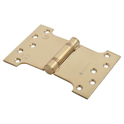 Enduro Max Parliament Hinge - 102 x 100 x 152 x 3.5mm - PVD Brass)