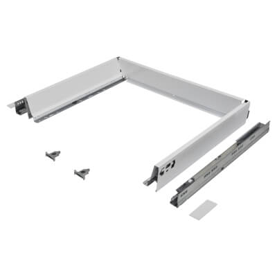 Blum TANDEMBOX ANTARO Drawer Pack - BLUMOTION Soft Close - (H) 84mm x (D) 450mm x (W) 600mm - White