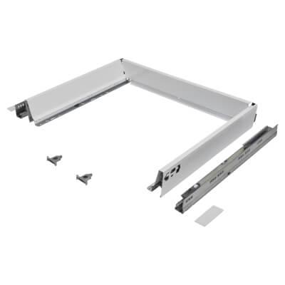 Blum TANDEMBOX ANTARO Drawer Pack - BLUMOTION Soft Close - (H) 84mm x (D) 450mm x (W) 600mm - White