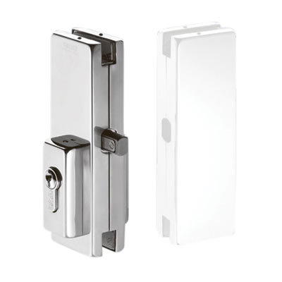 Centre Patch Lock for Glass Doors