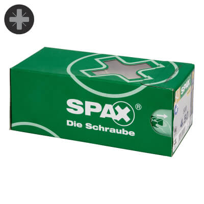 Spax Value Pack - 4.0 x 50mm - Pack 500)