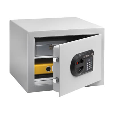 Burg Wächter C 1 E CityLine Electronic Fire Safe - 278 x 402 x 376mm - Light Grey)