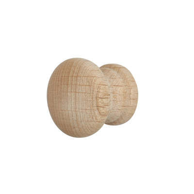 Touchpoint Cabinet Knob - 25mm - Beech