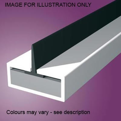 Pyroplex Single Centre Flipper Intumescent Strip - 15 x 4 x 2100mm - White