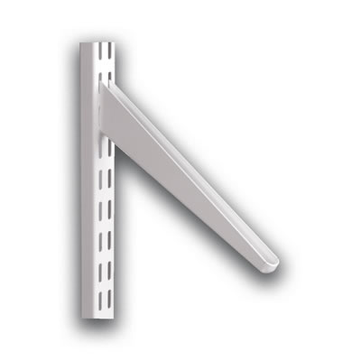 elfa Slanting Bracket - 270mm - White
