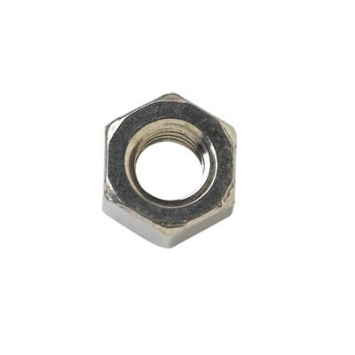 Steel Hex Nut - M4 - Zinc Plated - Pack 25