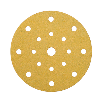 Mirka Gold Discs 17 Hole Multi Format - 125mm - Grit 120 - Pack 50)