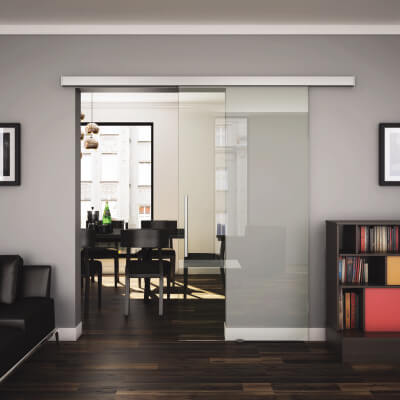 sliding vibrant interior for modern frameless klein kleinklein glass a feel and doors