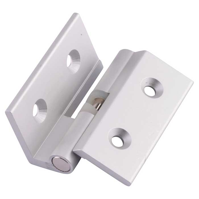 Cranked Rise & Fall Hinge - 12-13mm Panels - Right Hand